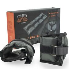 Wrist Weights 0.5kg - 05kg Phoenix Fitness Strength Exercise RY933 Wristankle