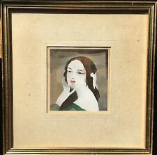 Marie Laurencin (1883-1956) French Painter - Lithograph - Portrait of Woman