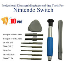 10Pcs/Set Repairing Tool Screwdriver for Nintendo Switch Watch Cellphone PS3/4