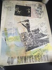 "18"" x 24"" Retro Music Art Poster The Who Live At Leeds 40th Anniversary"