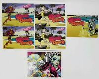 Mattel Monster High Doll Gloom Beach Trading Card Lot Dawn of the Dance Card