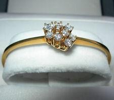 Natürliche Echtschmuck-Armbänder für Damen mit Diamant
