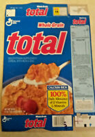 Vintage 1992 General Mills Total Flat Empty Box
