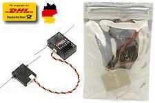 AR6210 DSMX 6Kanäle Empfänger RX support DSM2 Für Spektrum Transmitter G126