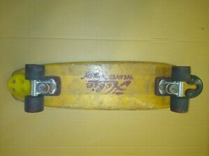 Vintage Hobie Weaver Woody Skateboard ACS Trucks