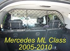 Dog Guard, Pet Barrier Net and Screen for Mercedes ML 2005-2010, Luggage/Pets