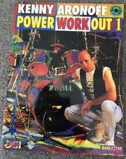 Kenny AronoffPower Workout 1 & CD Drums Sheet Music Instructional Lesson Book