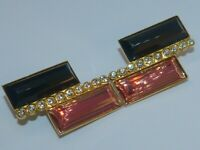 Emilio Pucci signed vintage 1950s rare gold-plated clip-on earrings