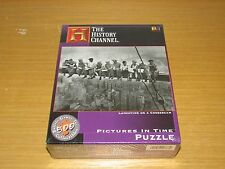 NEW BUFFALO GAMES HISTORY CHANNEL LUNCHTIME ON A CROSSBEAM PUZZLE 513 PIECE