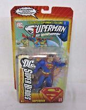 Mattel DC Super Heroes Superman Figurine & Superman Comic J2010