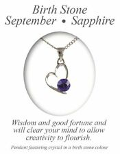 Rhodium Plated Sapphire Crystal Costume Necklaces & Pendants
