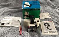 "Polaroid Instant Camera ""Swinger"" Model 20 Land Camera  Vintage Untested in box"