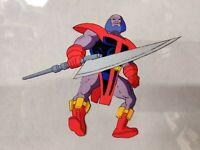 90s TERRAX Fantastic Four ANIMATION CEL Marvel