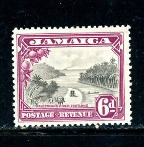 Jamaica Scott # 108 - MH - CV=$37.50 - Nice Stamp