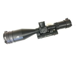 ATN 4-12X 60 Illuminated Rangefinder Professional Rifle Scope PRX-704
