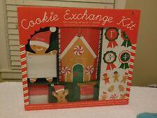 WILLIAMS SONOMA Holiday Christmas COOKIE EXCHANGE KIT Party SET Invites NEW