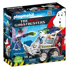 Playmobil Ghostbusters Spengler With Cage Car Building Set 9386 NEW In Stock
