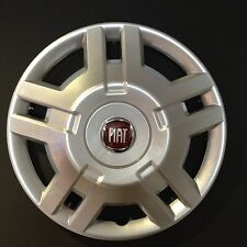 "4 x 15"" fiat ducato enjoliveur de roue enjoliveurs van-camping-car hub cap brand new set of 4."