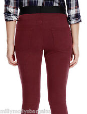 New Womens Marks & Spencer Red Jeggings Size 14 Short DEFECTS