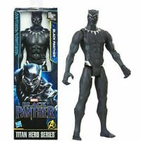 "BLACK PANTHER 12"" Inch Action  Figure Marvel Titan Hero Series Chadwick Boseman"