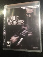 Rogue Warrior (Sony PlayStation 3, 2009)  Brand New Factory Sealed