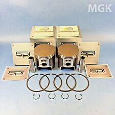TWO NEW SPI PISTON KITS FOR POLARIS 2007-2016 ALL FAN COOLED 550 SNOW 54-9256PS