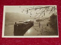 Yvon - Paris Strolling Barges Sidelights Seine 1919 Helio 2e Series - 25 CPA
