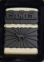 CAMEL Zippo Lighter # Z 477 Camel Zipguard WHITE Only 200 MADE With TIN 2000 🐫