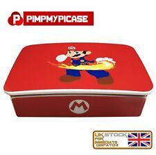 Raspberry Pi White Case Shell for the Raspberry Pi 4B Retro Gaming Themed Mario