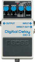 Brand New Boss DD-3 Digital Delay Guitar Pedal