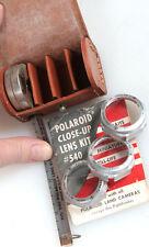 POLAROID CLOSE-UP LENS KIT #540 W/ CASE   DATA TAPE