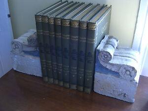 Vintage Marbleized Concrete Modillion Bookends (Extra Heavy)