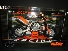 Automaxx KTM 450 SM-R 2009 Black and Orange 1/12