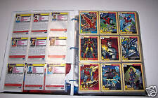 1991 Marvel Universe Series II With Five Hologram Set
