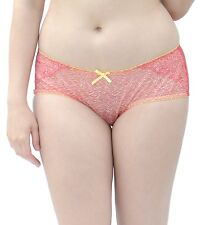 Curvy Kate Madagascar Shorts Briefs Poppy Knickers Size 18 in Red Ck3703
