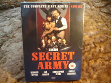 SECRET ARMY:COMPLETE SERIES 1 / ONE. 4 DISCS.NEW/SEALED.BBC. 1977/2009.DVD
