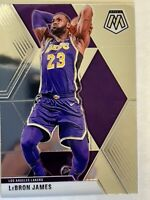 2019-20 Lebron James Panini Silver Prizms Mosaic #8 Los Angeles Lakers SP