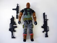 GI JOE ROADBLOCK Action Figure Heavy Assault Squad COMPLETE 3 3/4 C9+ v15 2005