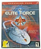 Star Trek: Voyager -- Elite Force Expansion Pack (PC, 2001)
