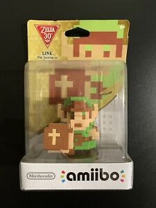 Nintendo Amiibo The Legend of Zelda 8-bit Link New Sealed See Photos