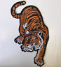 X-Large Tiger Big Cat Embroidered Iron Sew On Patch Applique Badge