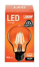 LED FEIT A19 ORANGE