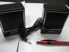 """Used SONY SRS-3 Portable Mini Speakers 3""""h x 2.25""""w x 1.25""""d w/warranty"""