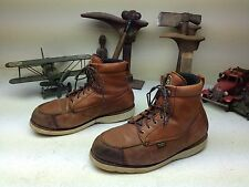 BROWN IRISH SETTER DISTRESSED LACE UP WORK CHORE LEATHER ENGINEER BOOTS 11 EE