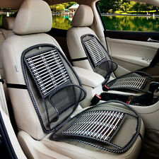 New Car Seat Auto Chair Massage Back Lumbar Support Mesh Ventilate Cushion Pad