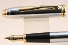 Vintage Cross Townsend Medalist Medium Fountain Pen, Gold Trim