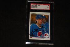 JOE SAKIC 1990-91 UPPER DECK SIGNED AUTOGRAPHED CARD #164 NORDIQUES SGC AUTH