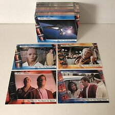 STAR TREK: THE COMPLETE STAR TREK MOVIES (2007) Complete Trading Card Set (90)