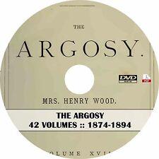 The Argosy UK Magazine {42 Volumes, 1874-1894} on DVD