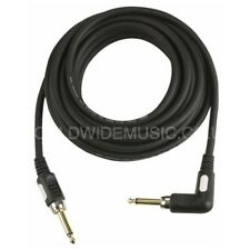 DAP Professional Quality Guitar Lead Cable with Right Angle Plug  6 Metres FL186